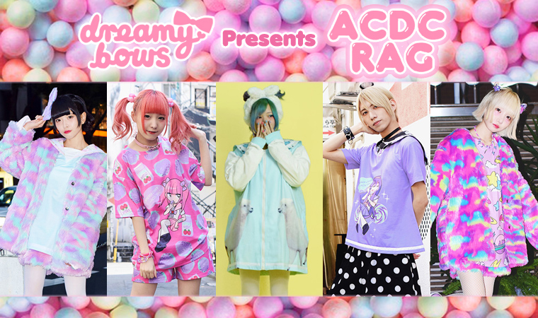 Authentic Harajuku fashion brand ACDC RAG clothing available