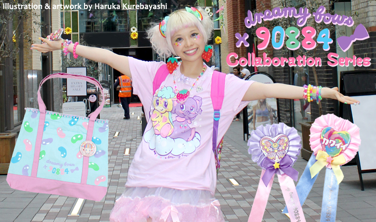 Dreamy Bows collaboration with Haruka Kurebayashi 90884!