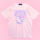 Menhera Chan Sick Of You Melty Heart T-Shirt - Pink